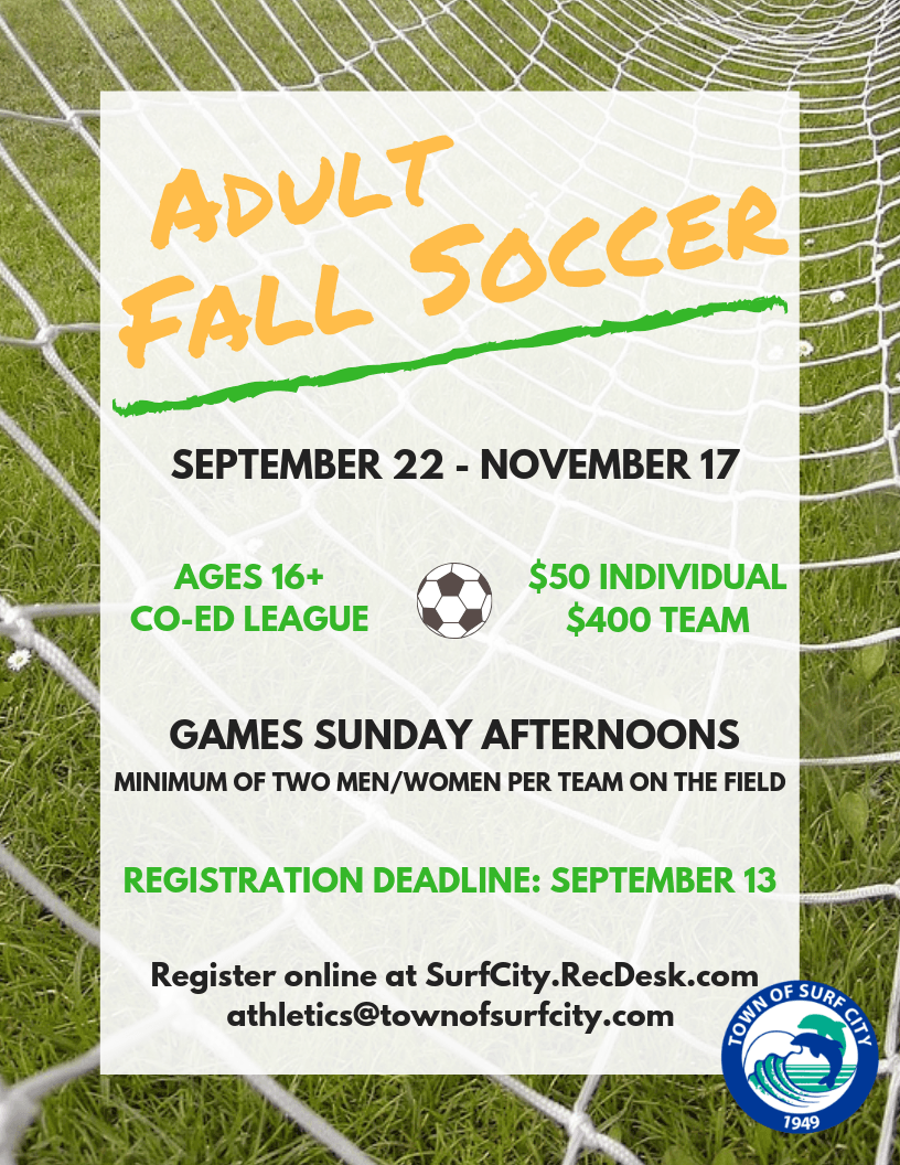Adult Fall Soccer