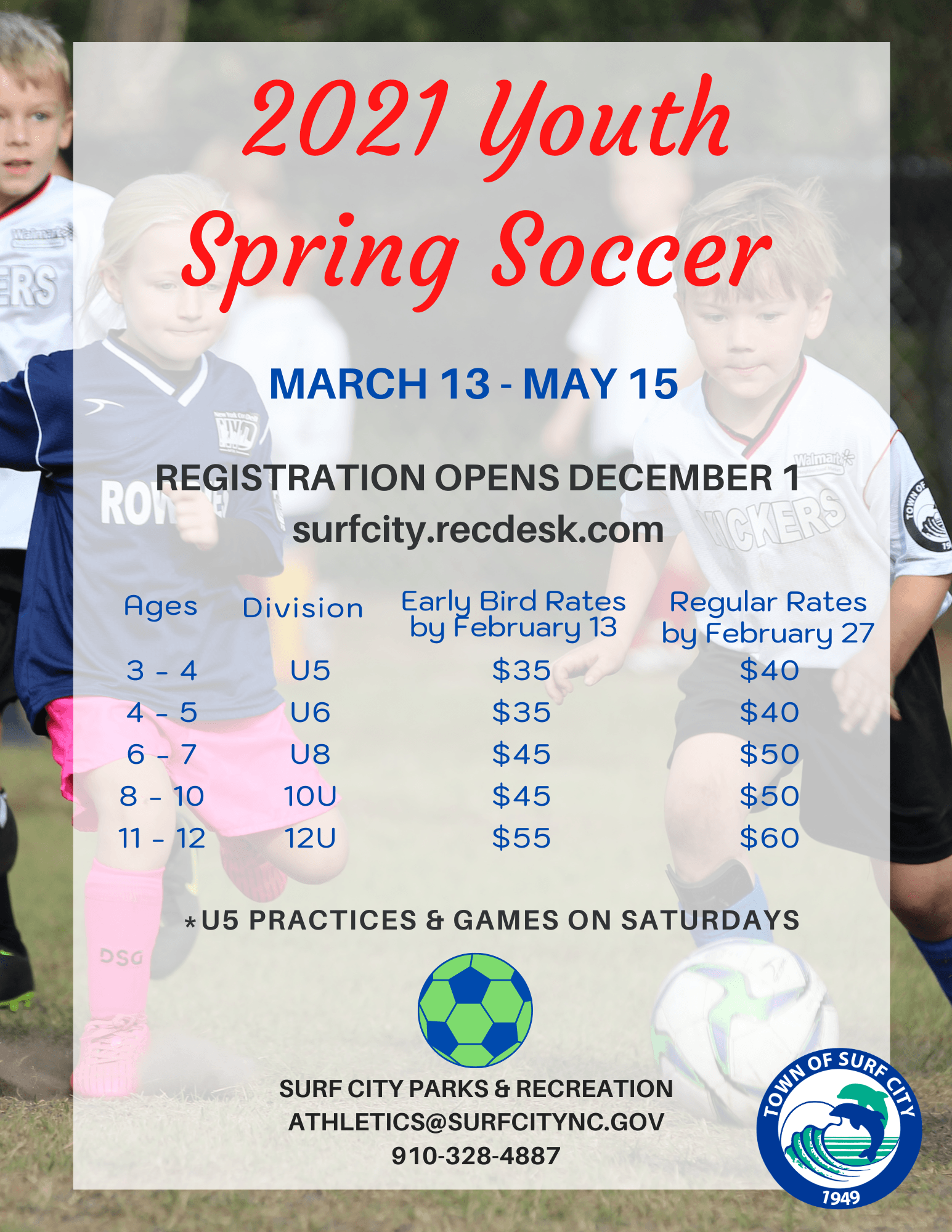 Youth Spring Soccer-2021