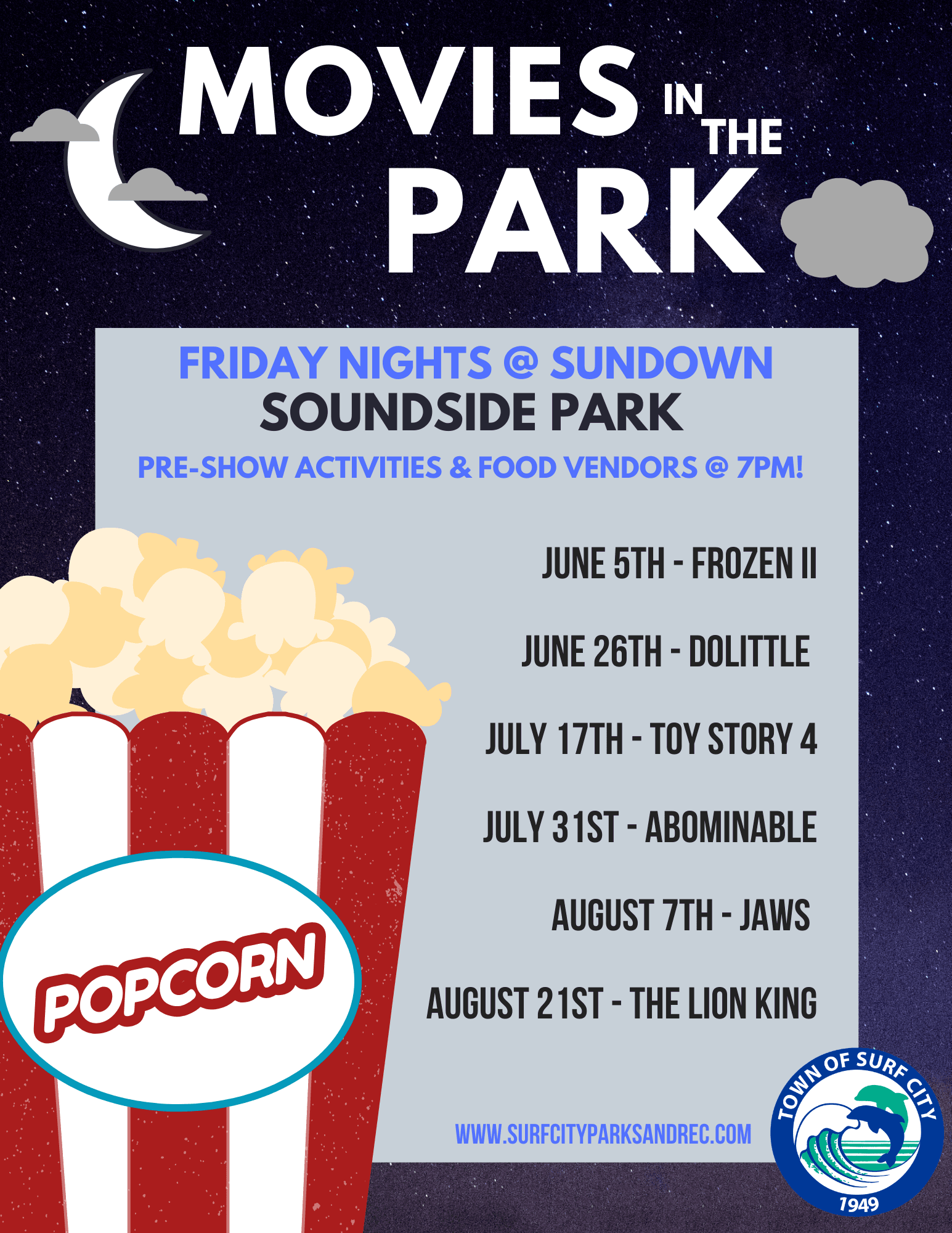 Movies in the Park - 2020