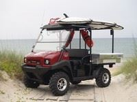 Red and black ATV Service 2399